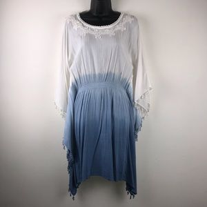 New York & Company Boho Chic Linen Dress